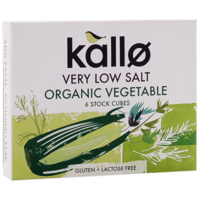 Kallo Very Low Salt Vegetable Stock Cubes
