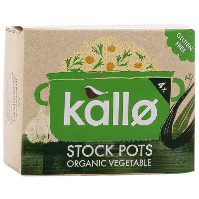 Kallo Vegetable Stock Pots