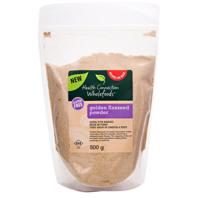Health Connection Flaxseed Powder Golden 500g