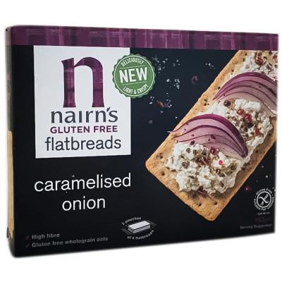 Nairn's Gluten Free Flatbreads Caramelised Onion