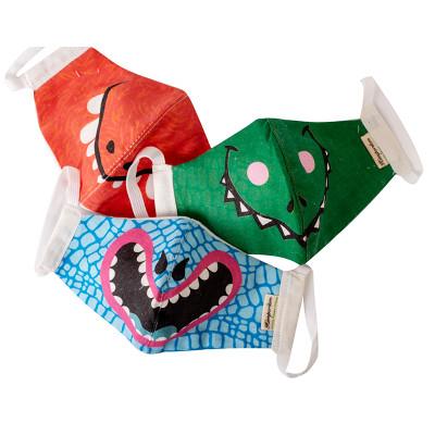 Hemporium Kids Face Mask - Monsters - 3 Pack