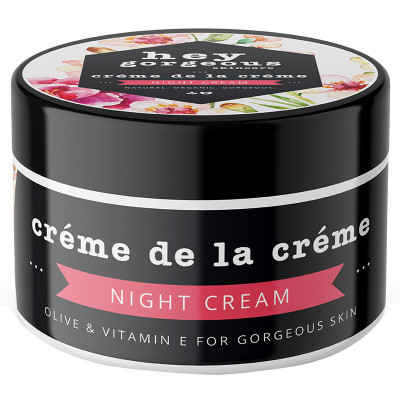Hey Gorgeous Creme de la Creme Olive & Vitamin E Night Cream