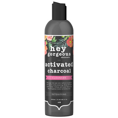 Hey Gorgeous Activated Charcoal Detoxifying Cleanser