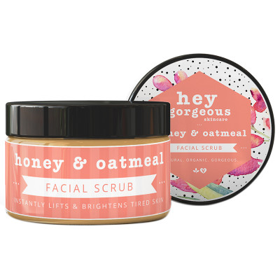 Hey Gorgeous Honey & Oatmeal Facial Scrub