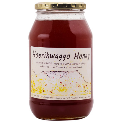 Hoerikwaggo Raw Fynbos Honey - 1kg
