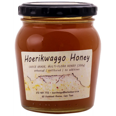 Hoerikwaggo Raw Fynbos Honey - 300g