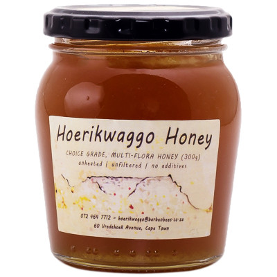Hoerikwaggo Raw Wild Flower Honey - 300g