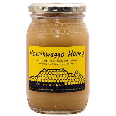 Hoerikwaggo Raw Creamed Honey - 500g