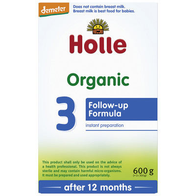 Holle Organic Infant Follow-on Formula: Stage 3