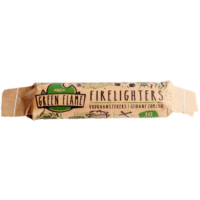 Green Flame Fire Lighters