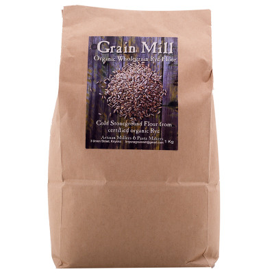 Knysna Grain Mill Organic Rye Flour