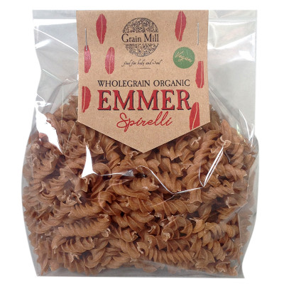 Knysna Grain Mill Emmer Pasta Spirelli