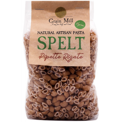 Knysna Grain Mill Spelt Pipette Rigate Pasta
