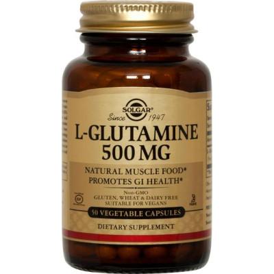 Solgar L-Glutamine Capsules