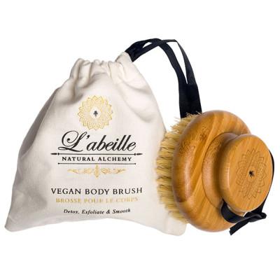 L'abeille Vegan Body Brush