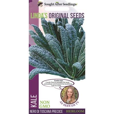 Linda's Original Seeds Kale Nero Di Toscana Precoce