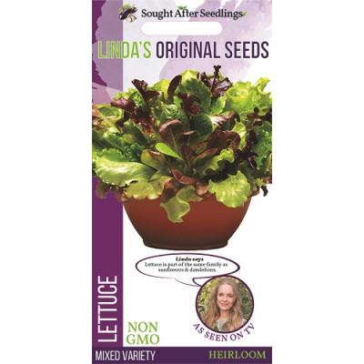 Linda's Original Seeds Lettuce Mixed Variety