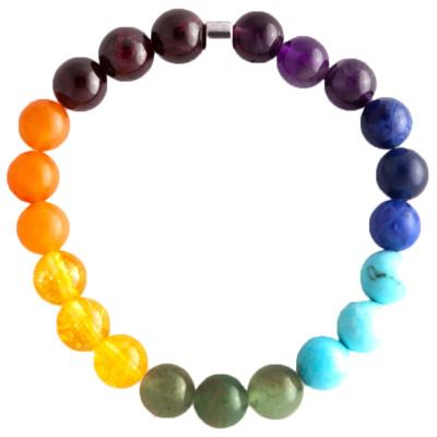 Live Light Chakra Gemstone Bracelet