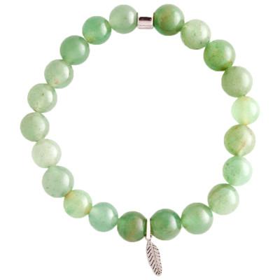 Live Light Green Aventurine Bracelet