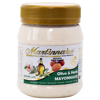 Martinnaise Olive & Herb Banting Mayonnaise