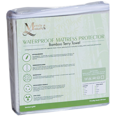 Merely a Monarch Bamboo Terry Towel Mattress Protector