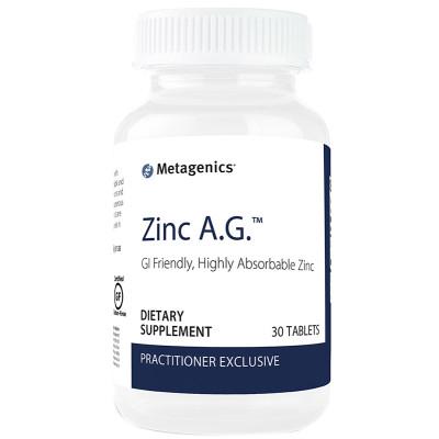 Metagenics Zinc A.G 30's