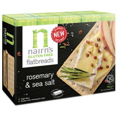 Nairn's Flatbread - Rosemary & Sea Salt