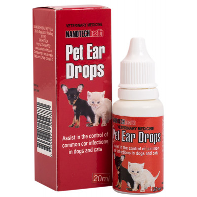 NanoTech Pet Ear Drops