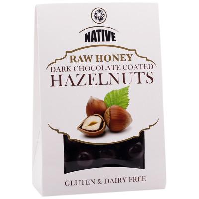 Native Raw Honey Chocolate-Coated Hazelnuts
