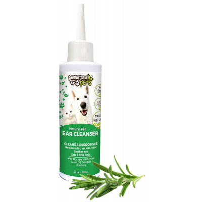 Pannatural Pets Natural Dog Ear Cleanser