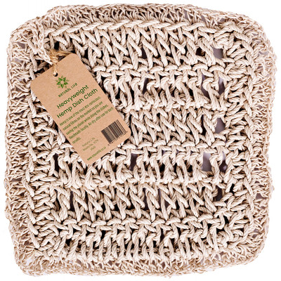 Natural Life Hemp Dishcloth - 4mm