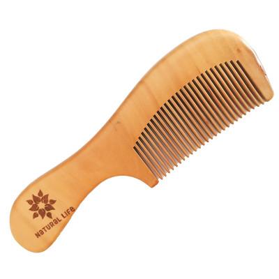 Natural Life Pear Wood Comb