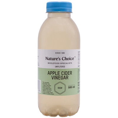 Nature's Choice Raw Unfiltered Apple Cider Vinegar