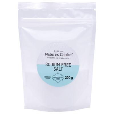 Nature's Choice Sodium Free Salt (Pot Chloride)