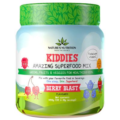 Nature's Nutrition Kiddies Amazing Superfood Mix - Berry Blast