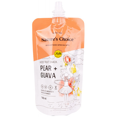 Nature's Choice Pear Guava Fruit Kids Snack