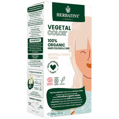 Herbatint Vegetal Color - Neutral Cassia Power