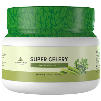 Nature's Nutrition Super Celery