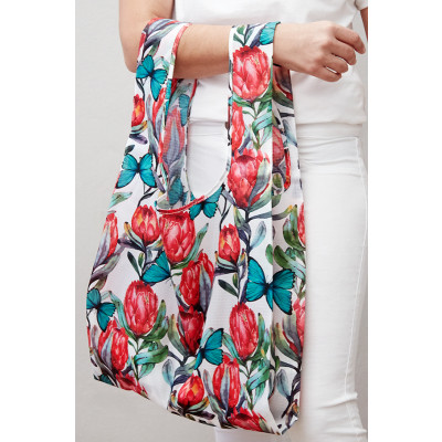 MyBaguse Protea Reusable Shopping Bag
