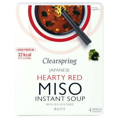 Clearspring Hearty Red Miso Instant Soup