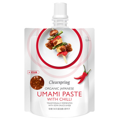 Clearspring Organic Japanese Umami Paste with Chilli