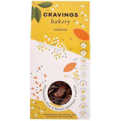 Cravings Bakery Chocolate Chip & Raisin Oatmeal Cookies