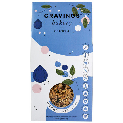 Cravings Bakery Old Fashioned Granola