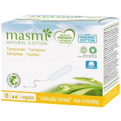 Masmi Organic Cotton Regular Tampons
