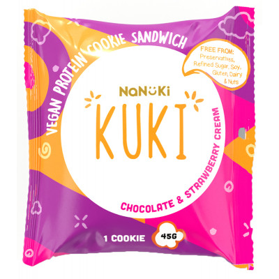 Nanuki Kuki Chocolate & Strawberry Cream