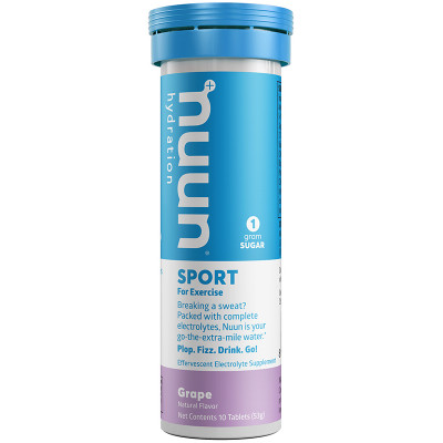 nuun Hydration Sport Grape