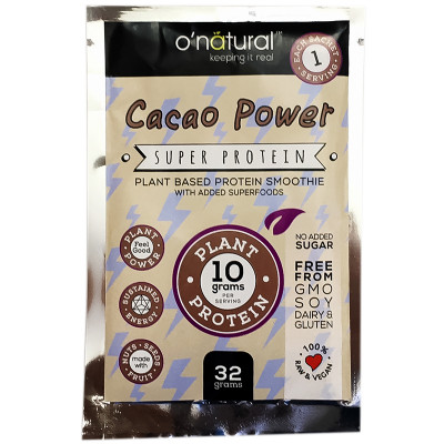 O'Natural Cacao Power Protein Smoothie Mix - 32g