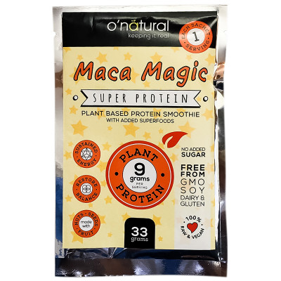 O'Natural Maca Magic Protein Smoothie Mix - 33g