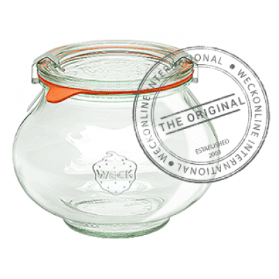 Weck Deco Glass Jar