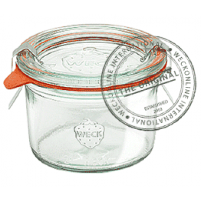 Weck Mold Glass Jar